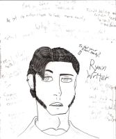 Ryan Writer the Writer by ArtticWitchica