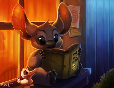 Daily 6 - Stitch by Cryptid-Creations