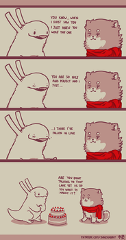 Rabbit and Crayon weekly comic - Confessions by DaveRabbit