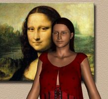 The Mona Lisa Woman by LuckyLilith