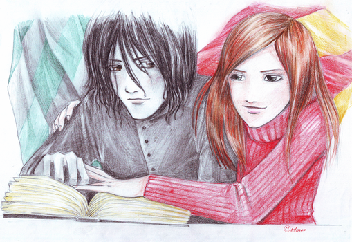 HP - Snevans - Studying by Adelite