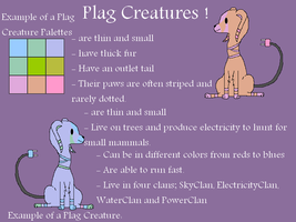 Plag Creatures Reference Sheet [Open species] by Xingyaru