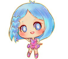 Miss-Glitter Chibi(color edit) by Getanimated