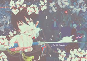 Ao no Exorcist Rin Okumura Wallpaper by Belle-chii