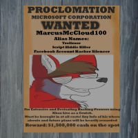 My Wanted Poster by MarcusMcCloud100