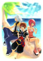 Kingdom Hearts Beach by Eternal-S
