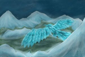 Anivia Soaring by TheDracoJayProduct