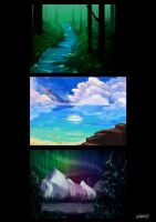 Sceneries by vallyv