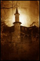 Haunted mansion by the-amen-corner