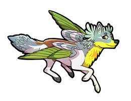 Winged Wolf So Much by Ithlini