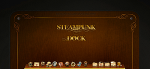 Steampunk dock by deviantria