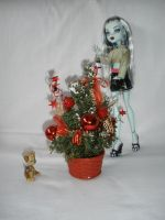 Frankie's first Christmastree by Bj-Lydia