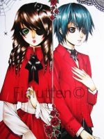 Gothic Twins by fialutten