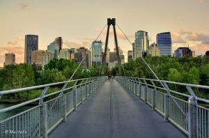 Downtown Calgary by mystic552