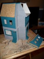 Les Shoppes Dollhouse Project: WIP 17 by kayanah