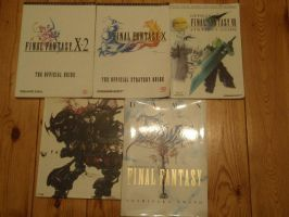 My Final Fantasy Books by AigisNoir
