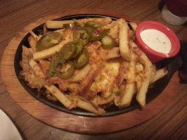 Chili's Cheesy Fries with Melted Cheese by nosugarjustanger