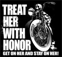 Treat Her With Honor by darquem
