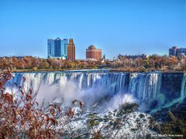 Niagara Falls U.S.A. side by FreeMindsSanctuary