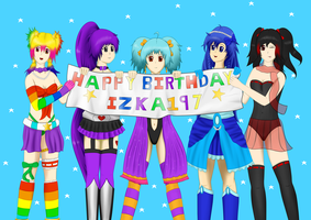 Happy Birthday Izka197 by Dumdodoor