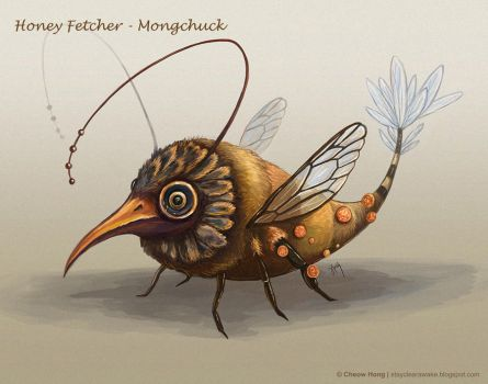 Honey Fetcher - Mongchuck by stayclearawake