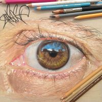 My father's eye by redosking