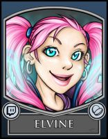 BC2013 Badge Elvine by Noxychu