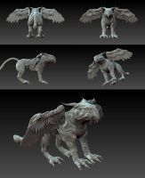 gryphon by Milish