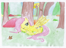 Fall Fluttershy by BoxedSurprise