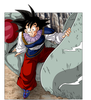 Goku Yadrat by BardockSonic