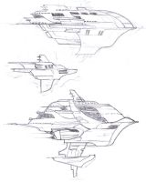 spaceship concepts by mariisi