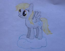 Derping on a Cloud by SquirtleSam