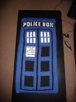 Tardis blanket by yeles