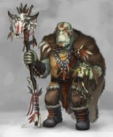 DnD test shaman by Angevere