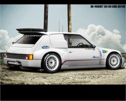 AM peugeot 205 hill climb by adrianmolina