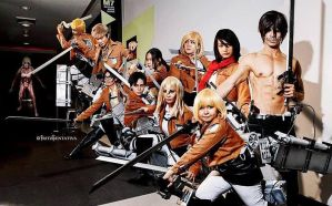 Shingeki No Kyojin by akadiaknight17