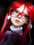 Grell doll finished 1 by Puffheadz