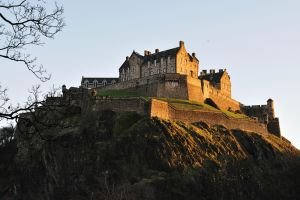 Edinburgh Castle Rock by WestLothian