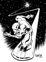 silver surfer by gianmac