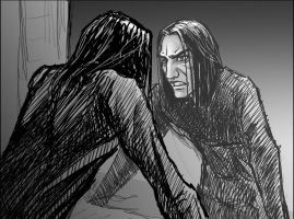 Self-Hating Snape by Lithrael