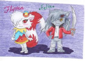 Flippia and Felix by tonoly21
