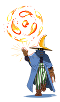 FFT - Wizard (Ma) by Scribblehatch