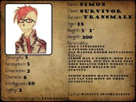 Survive The Wastes Application - Simon by EyonSplicer