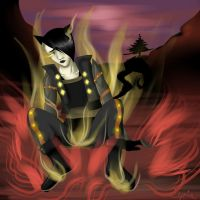 Shun, go change flames of hell! eOe   -But.. by PokeLyria