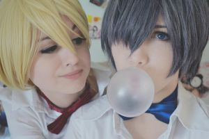 Alois and Ciel. Sweet boys. by GermanOlaf