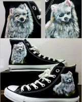 spitz on Converse by alcat2021