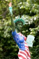 Lady Liberty 2 by BareBeautyBodypaint