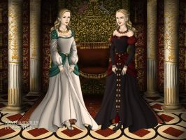 Odette and Odile by DarthCrotalus