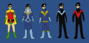 Robin Outfits: Richard by evilfuzzle2