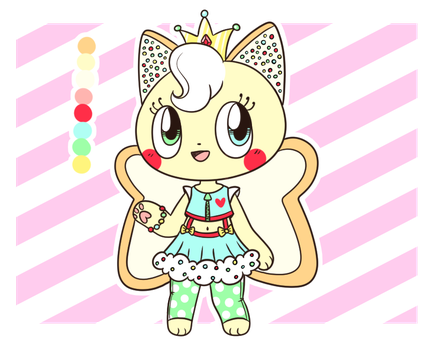 Fairy Bread Feline Adopt (CLOSED) by Tamatanium